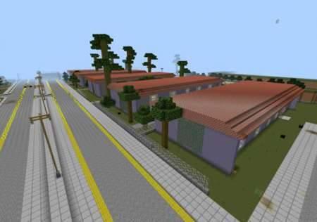 Карта GTA San Andreas для MCPE