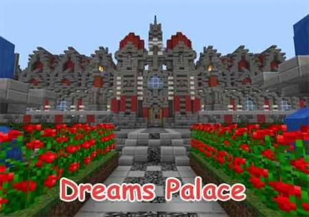 Карта Дворец Мечты для игры Майнкрафт PE