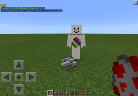 Мод Easter Bunny - Пасхальный кролик в Майнкрафт PE