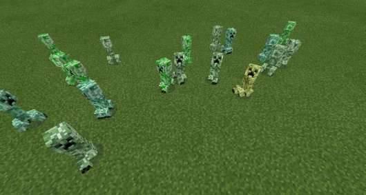 Мод Random Mob Textures Mod для Майнкрафт PE