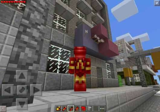 ��� Iron Man - �������� ������� � Minecraft PE