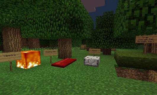 The Camping Mod v1.0 - �� ��� ������� � Pocket Edition