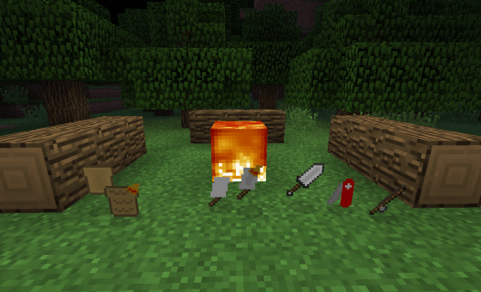 The Camping Mod v1.0 - всё для походов в Pocket Edition