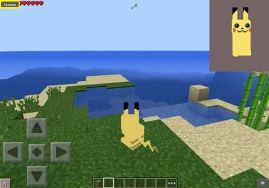 Мод ПокеСимулятор - Покемоны в Minecraft PE