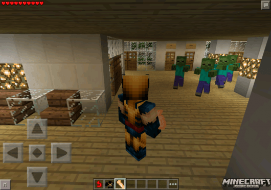 Wolverine Mod - Росомаха в Minecraft PE