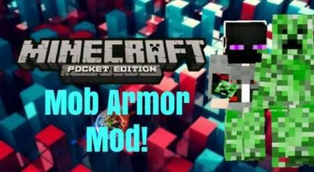 Monster Armor Mod - Доспехи мобов для Minecraft PE