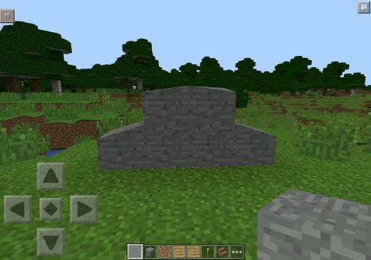 NoBlocks Mod - Наклонные блоки в Minecraft PE