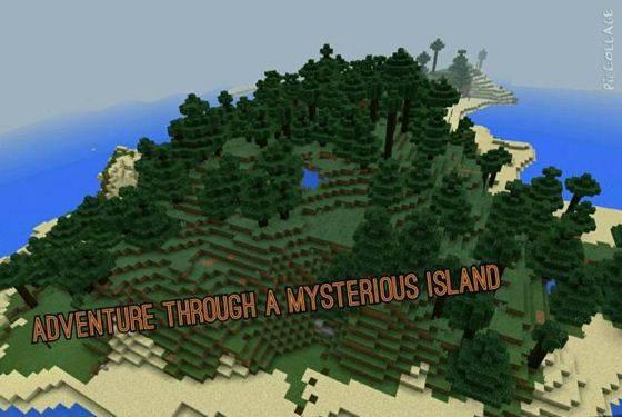 скачать карту на майнкрафт необитаемый остров - фото 4
