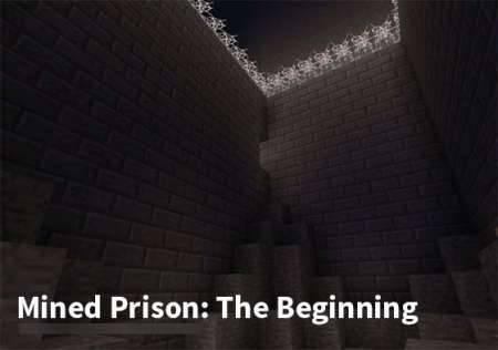 Карта Подземная тюрьма: Начало для Minecraft Pocket Edition