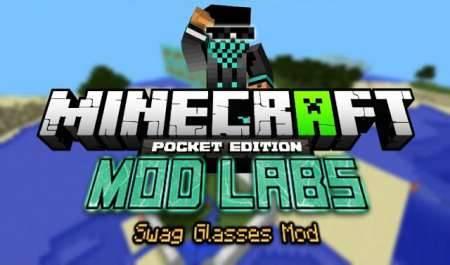 Swag Glasses - крутые очки в Minecraft PE