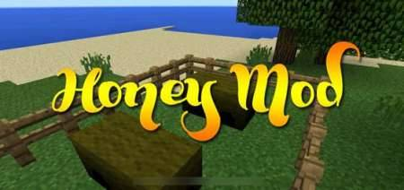 Honey - мод на пасеку, пчел и мед для Minecraft PE