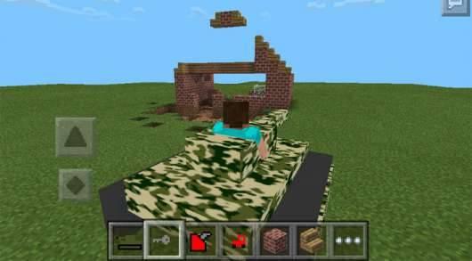 Mech Tanks Mod - мод на танки для Minecraft PE 0.9.5 и 0.10.0