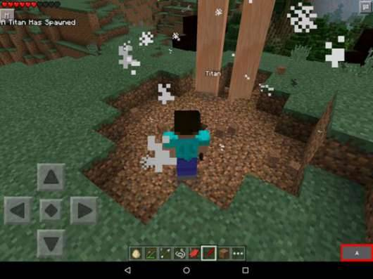 Мод Attack on Titan - Атака Титанов в Minecraft PE