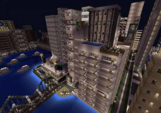 Карта Ceylon City - Город Цейлон для Minecraft PE
