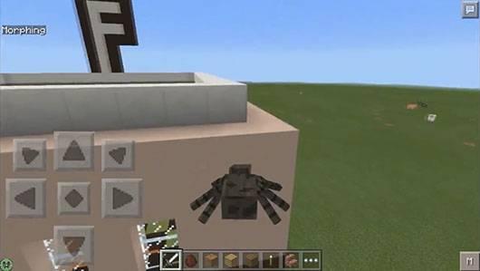 Мод Advance Morphing - Превратись в моба для Minecraft PE
