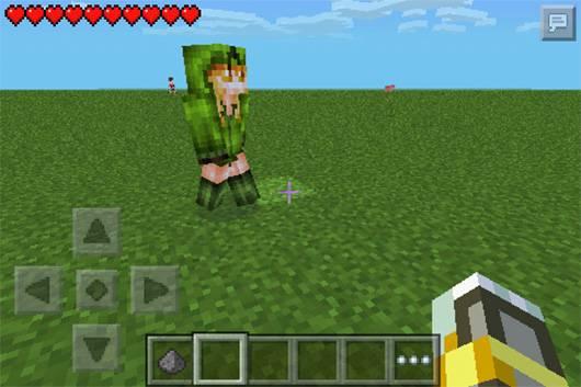 Мод Mob Talker Girls - Девушки мобы в Minecraft PE