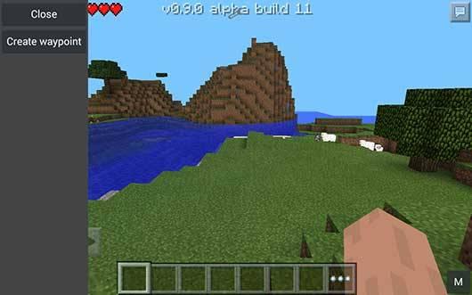 Мод Waypoints v2.2 Mod для Minecraft PE