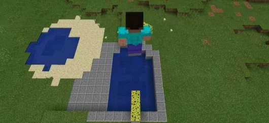 Trampoline Mod - батут в Minecraft PE