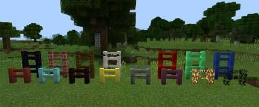 More Fences Mod - новые заборы в Minecraft PE