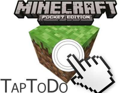 Плагин TapToDo v2.1.2 для Minecraft PE