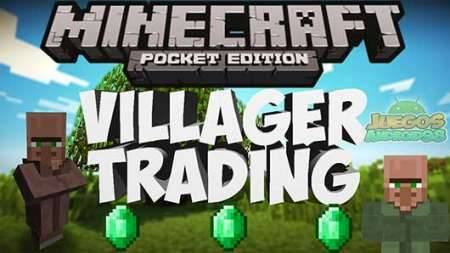 Мод Villager Trading - торгуй с жителями в Minecraft PE