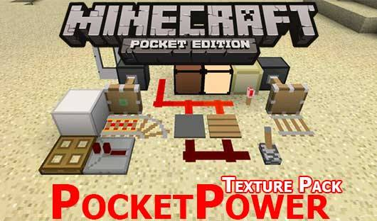 Текстуры PocketPower Craft Texture Pack