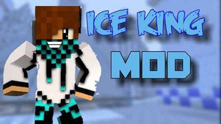 Мод Ice King - Паковый лед в Minecraft PE