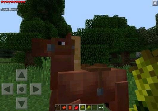 Мод Horses - Разноцветные лошади для MCPE