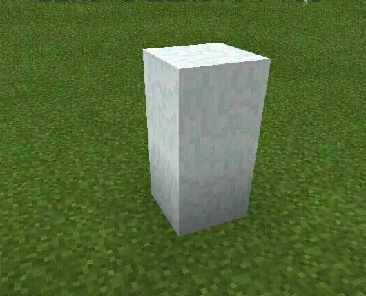 ������� �������� ������ � Minecraft PE