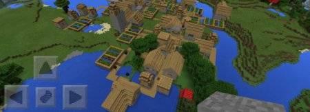 Простой сид на тройную деревню