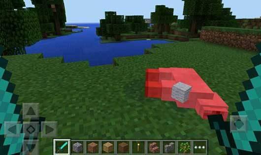 Мод Dual Wielding - Две руки в Minecraft PE