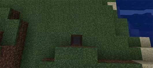 Сид на золото и алмазы под спавном в MCPE 0.12.1