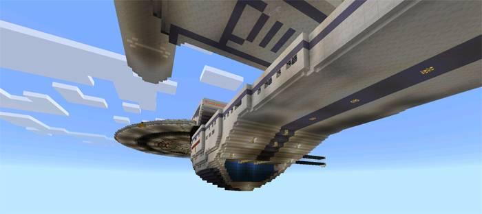 USS Enterprise / Карты для Майнкрафт / Minecraft Inside