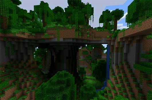 Сид на джунгли для Minecraft PE