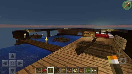 Карта Water Slide Race для Minecraft PE