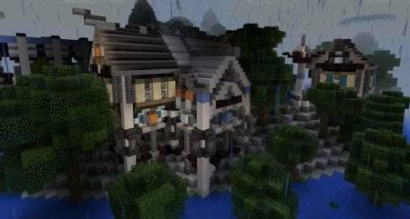 """Карта """"Атлантида"""" для Minecraft PE"""