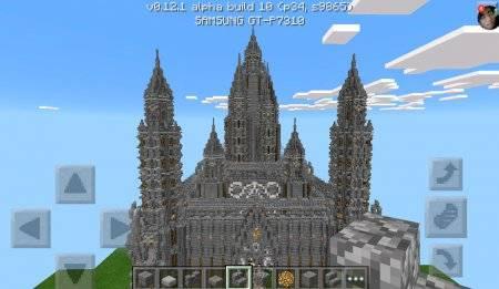 """Карта """"Ancient Disney Palace"""" для Minecraft PE"""