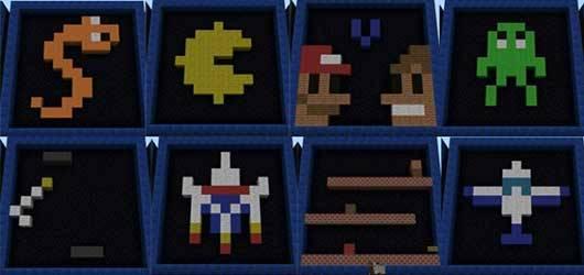 Arcade Mod - Аркадные игры в Minecraft PE