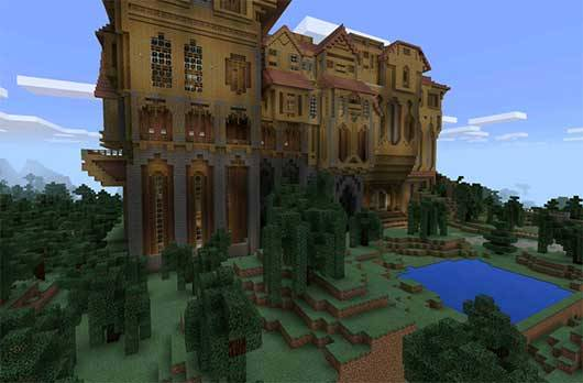 Herobrine Mansion - Поместье Херобрина для Minecraft PE