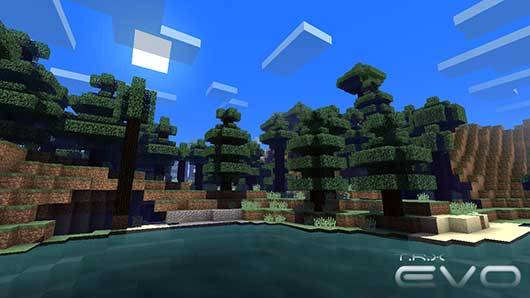 EVO Shader Mod V1.1 для Minecraft PE