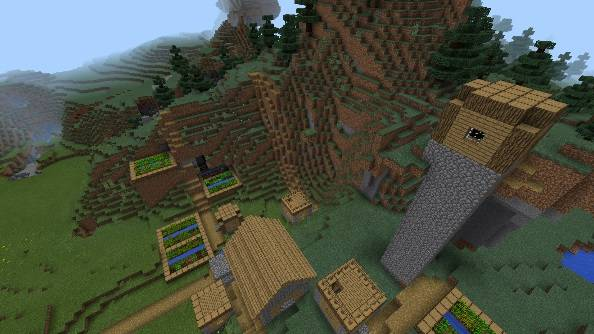 скачать карту смешарики для Minecraft - фото 8