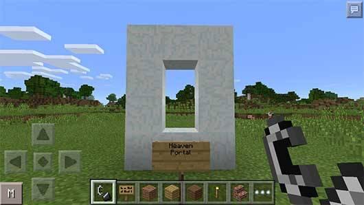 Heaven Mod - Мир из диамантов в Minecraft PE