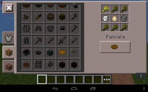 Мод на еду для Minecraft PE 0.12.1 и 0.12.0
