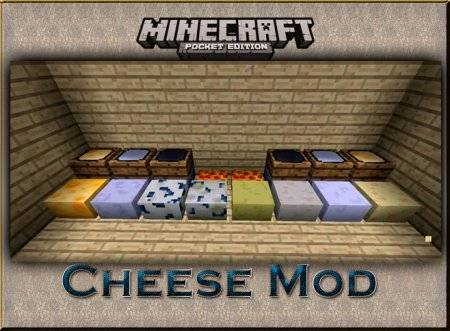 Cheese Mod v2.0 для Minecraft PE
