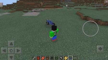 Advance Vehicles Mod для Minecraft PE