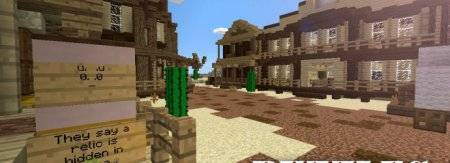 Drought - Western Adventure Map для Minecrat PE