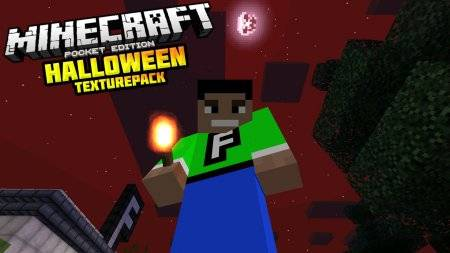 Halloween Texture Pack для Minecrat PE (Android/iOS)