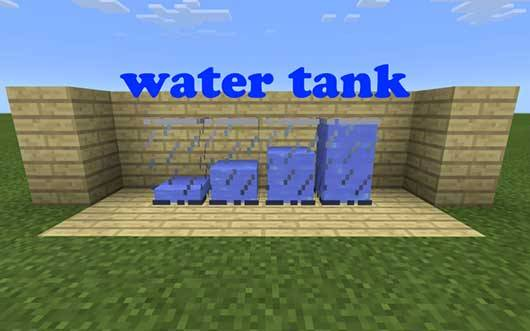 Liquid Tanks Mod - Сосуды для жидкости в Minecraft PE
