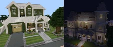 Карта Ghost City для Minecraft PE