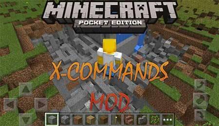 X-Commands - команды для Майнкрафт ПЕ